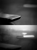 (ًWeda3eah*) Tags: white 3 black paris london by train all days 3g widow qatar reflaction iphone weda3eah