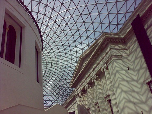Roof of the Great Court, British Museum