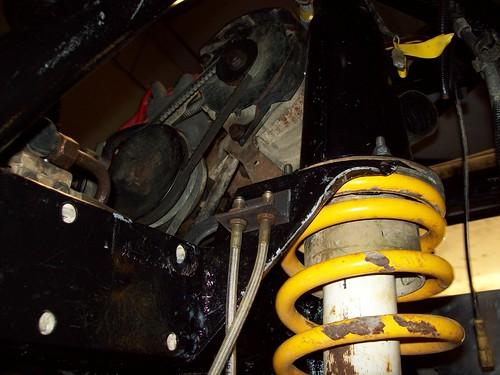 Brake line brackets