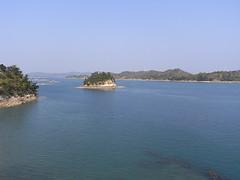 天草五橋からの景色