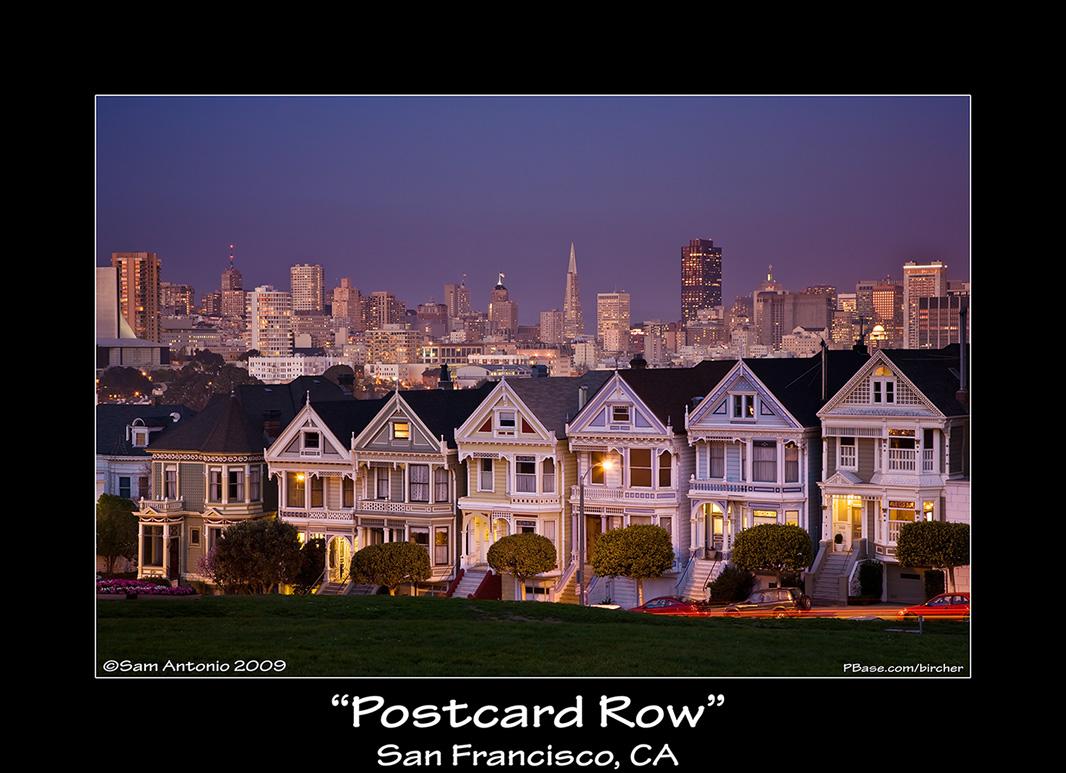 Postcard Row