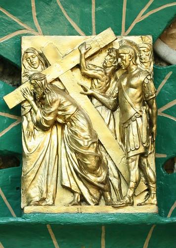 II. Jesus is given his cross