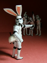 Here Comes TK-Cottontail... (Doctor Beef) Tags: easter toy actionfigure stormtrooper thumbsup bunnyears easterbunny twothumbsup bunnytail tkcottontail tk256isgoingtokillmeinmysleepforthis