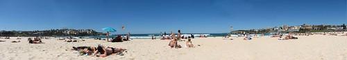 Panarama of Bondi Beach