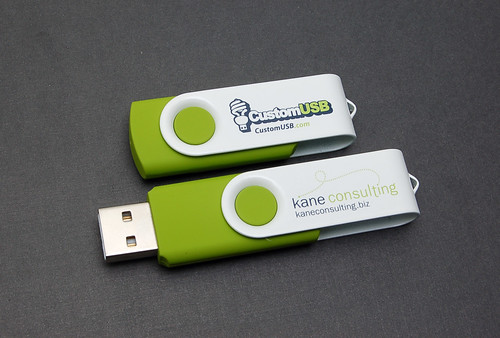 Kane Consulting Custom Colored Spin USB Drives