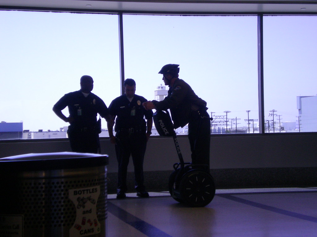 Segway Airport Cop