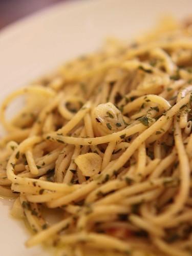 Spaghetti Alio Olio
