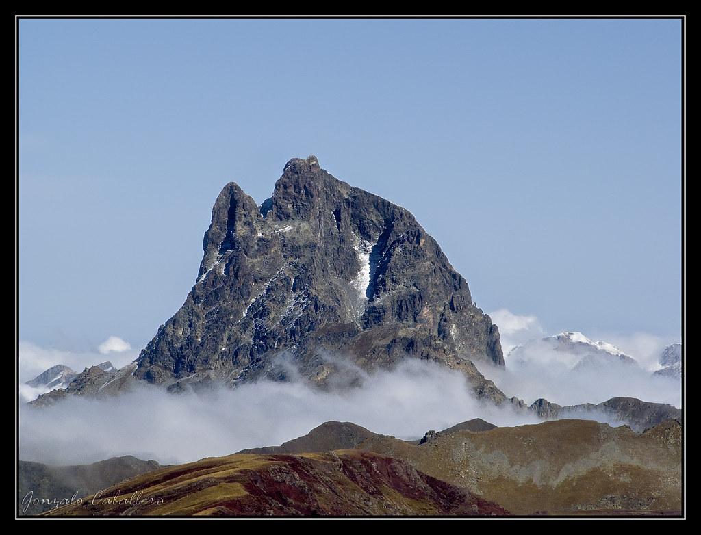 Midi d'Ossau desde la Moleta (2576 m.)