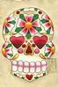 24 Cherry Blossom Sugar Skull