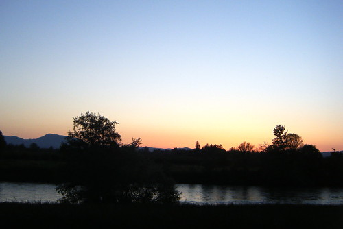 Willamette River Sunset