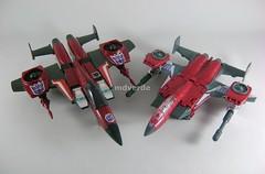 Transformers Thrust Classic Henkei vs G1 - modo alterno