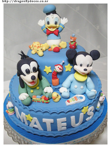 baby disney characters pictures. A Second Baby Disney Cake for