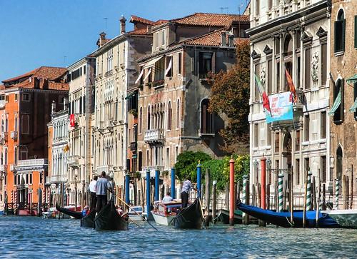 Gondola Ride, Grand Canal, Venice