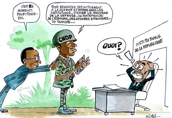 Les exigences du CNDP pour renoncer définitivement à la guerre