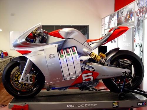 MotoCzysz E1pc Digital Superbike