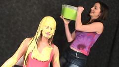 026 Amber Slimed (iSlime) Tags: slime gunge gunged slimed slimedgirls