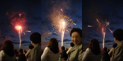 fireworks! woo~
