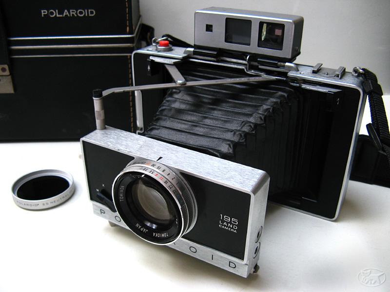 normale fotos als polaroid