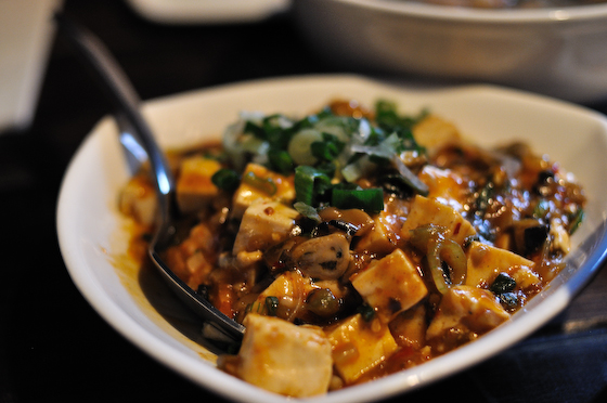 Leongs Legends: Tofu with black bean oysters
