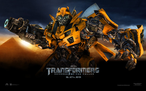 Wallpaper Transformers 2 Bumblebee pirámide
