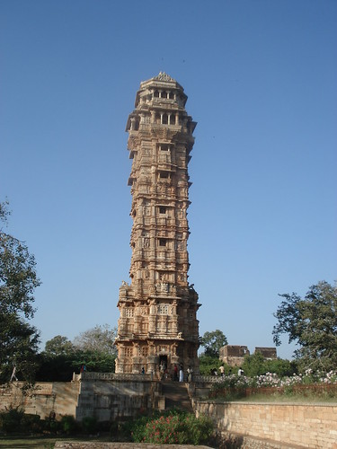 Victory Tower, Chittorgarh Fort, Rajasthan Pic 2