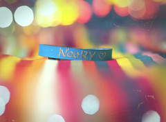 [NOORY] (Aih.) Tags: birthday pink blue friends red green yellow person for rainbow very bokeh special ever inshaallah a 1862009