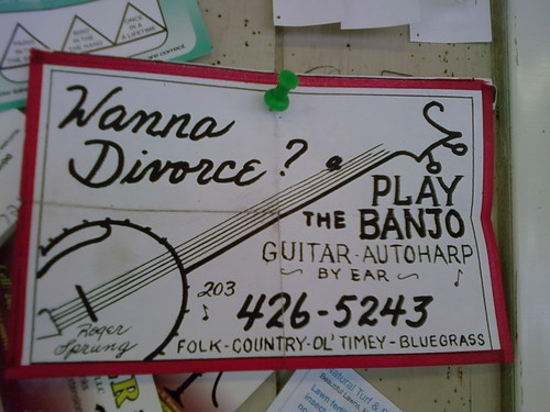 Want a divorce? Banjo Ad