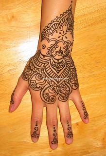 Traditional Indian hand