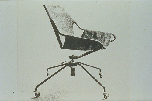 paulistano office chair, by paulo mendes da rocha
