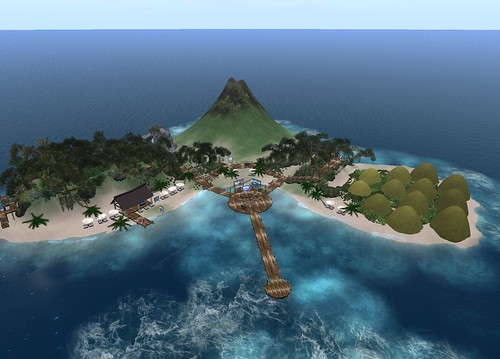 Virtual Philippines Island in Second Life