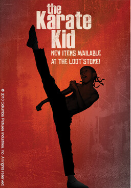 Karate Kid items for PlayStation Home
