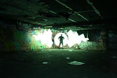 A Schoon Entry (BlaisOne) Tags: longexposure light lightpainting canon painting twilight paint creation nightime lapp straightoutofthecamera glowsinthedark sooc kromepenit lightartperformancephotography duaneschoon toddblaisdell blaisone
