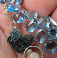 Apatite cut and rough (by Simbel_myne)