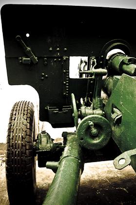 Житомир. Памятник артиллеристам.
