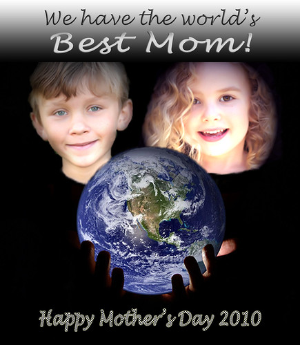 Mother's Day Card from the Cavekids