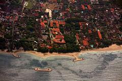 Sanur (Mangiwau) Tags: houses bali indonesia island coast aerial line coastal housing complex development rai nusa kuta benoa denpasar sanur dua ngurah