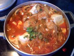 Thaory's kimchi stew (maangchi) Tags: sidedish koreanfood banchan koreancuisine kimchichigae asiancuisine  koreancooking kimchijjigae kimchistew maangchi koreanrecipes videorecipe stewrecipe youtuberecipe thaoryteng