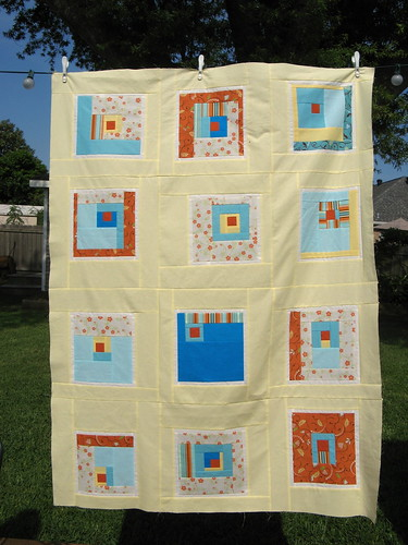 """All Squared Up"" Quilt Top"