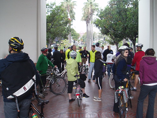 Blessing of the Bikes-DTLA Ride 2011 023