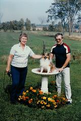 Mary, Kipper and Brian (Brian Bowrin) Tags: ontario robert 1982 brian mary hill richmond kipper 1980s goodstown bowrin