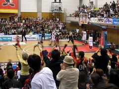 Osaka Evessa Vs Sendai 89ers - Osaka, Japan (glazaro) Tags: city basketball japan japanese asia stadium arena dome  osaka sendai kansai kadoma namihaya bjleague evessa 89ers