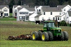 threatened Maryland farmland (by: Maryland Dept of Planning)