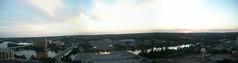 sunset outside dad's apartment (courtneysmilestoo) Tags: sunset austin balcony