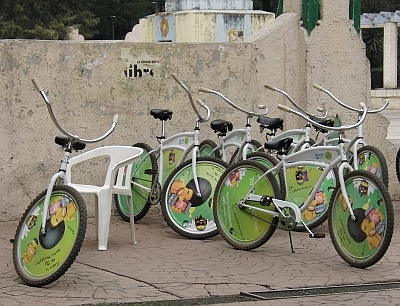 Free bikes for rent - Mexico City