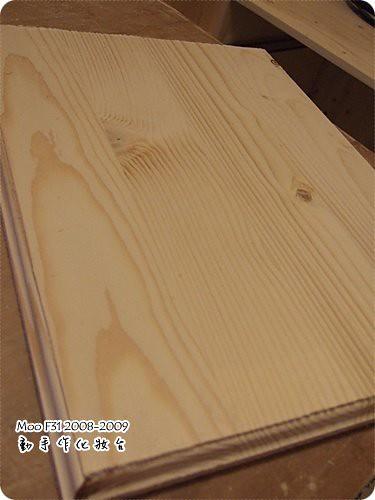 手作木工化妝台-17