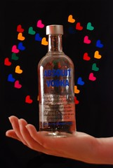 Absolut Bokeh (Oh, So...Photo) Tags: hearts absolutvodka hbw shapedbokeh absolutbokeh vodkaads lightsarearrangedinaheart explore4912409