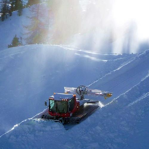 Ratrac snow