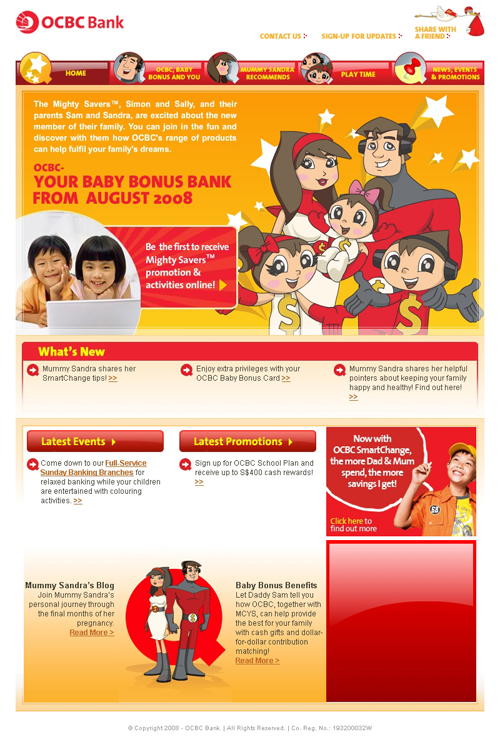 OCBC Mighty Savers - Home Page