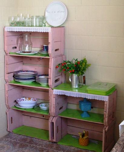 Caixotes de Frutas por Santinha - Casas Possíveis.