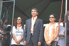Nadine Ramaroson, Andry et Mialy Rajoelina
